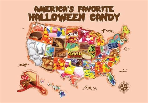 Six US states hate trick or treaters and give out more
