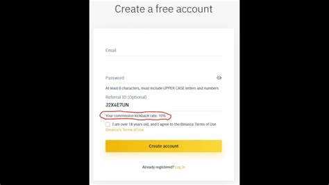 Binance referral ID: J2X4E7UN (-10% fee) - YouTube