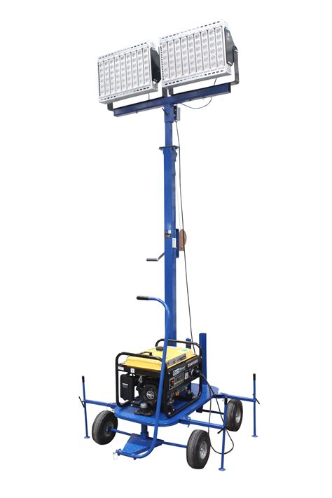 Mini Generator Powered LED Light Tower Released by Larson