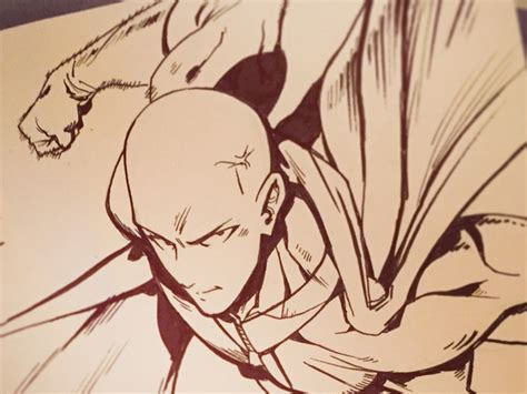 One Punch Man by Mike Anderson | Dribbble | Dribbble