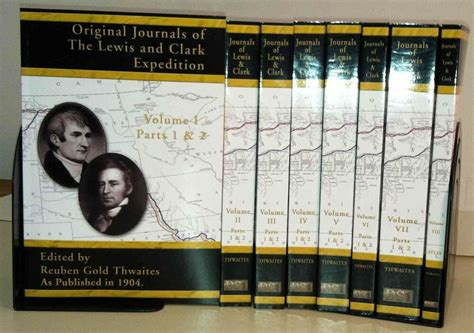 Original Journals of the Lewis and Clark Expedition Set