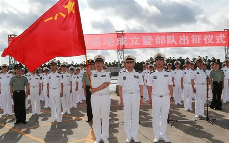 China sends troops to its 'support base' in East Africa
